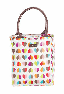 Beau & Elliot Confetti Heart Insulated Lunch Tote Cool Carry Bag Multi Colour