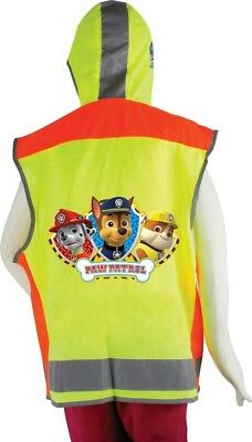 Paw Patrol Fluorescent Reflective Safety Vest | 5-6 Years