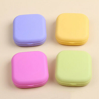 Chic Contact Lens Case Travel Kit Mirror Pocket Size Storage Holder Container