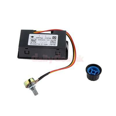DC Motor Speed Controller PWM Speed Adjustable Regulator 6V 12V 24V Display