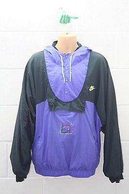 VINTAGE NIKE 90s TRACKSUIT TRACKY TOP SHELL SUIT OREGON JACKET USA XXL SS5C