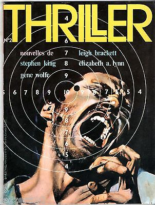 MAGAZINE POLAR/ANGOISSE ¤ THRILLER n°2 ¤ LEIGH BRACKETT/STEPHEN KING/GENE WOLFE