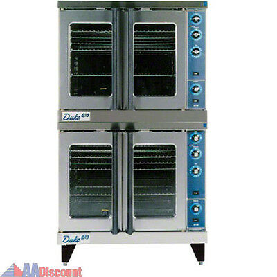 New Duke Mfg. Double Deck Gas Convection Oven E102-G