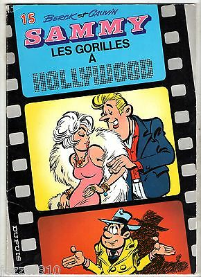 SAMMY n°15 ¤ LES GORILLES A HOLLYWOOD ¤ EO 1982 DUPUIS ¤ BERCK/CAUVIN