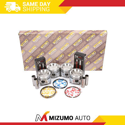 Fit 88-92 Mazda Ford Turbo 2.2 F2-T Full Gasket Set Pistons Main Rod Bearings