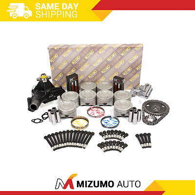Fit Cadillac Chevrolet GMC 5.7L OHV Master Overhaul Engine Rebuild Kit