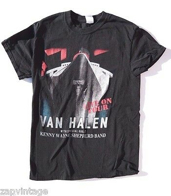 October 2, 2015 Women's Small Van Halen Tour 2015 Concert T-Shirt (Hollywood)