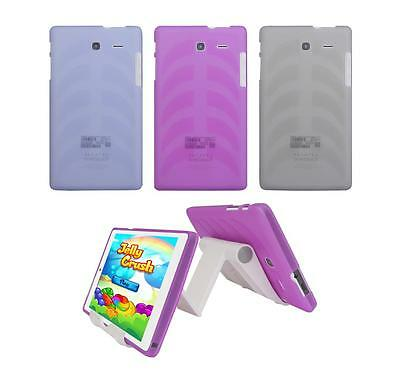 View Stand Holder + TPU Gel Skin Case Cover for Alcatel Onetouch Pop 7 LTE 9015W