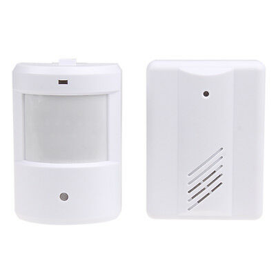 WIRELESS MOTION SENSOR DETECTOR DOOR GATE ENTRY Automatic Ring BELL CHIME ALARM