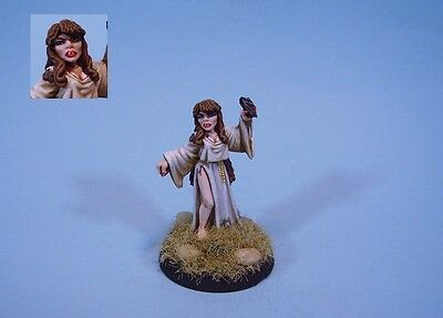 Ral Partha painted miniature cute Vampire Sorceress