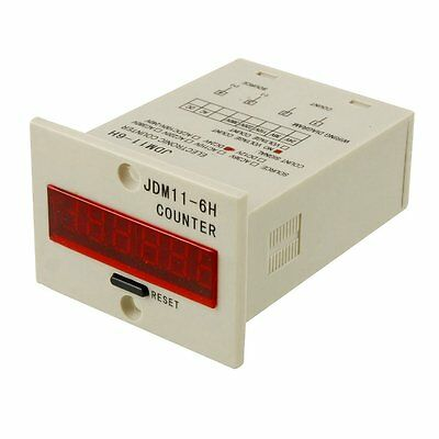 JDM11-6H 6 Digits Display Electronic Counter Relay Control DC 24V