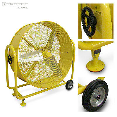 TROTEC TTW 25000 S Drum Fan Wind Machine Construction drying