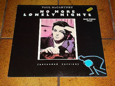 "12"" PAUL McCARTNEY - NO MORE LONELY NIGHTS"