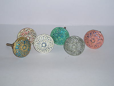 Fair Trade Cast Iron Vintage Shabby Chic Distressed Door Drawer Knobs Handles
