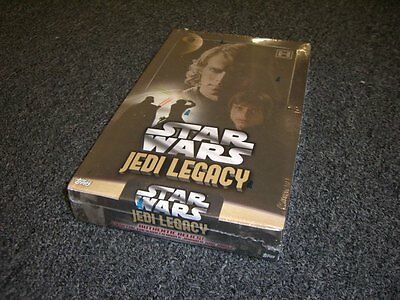 Star Wars Jedi Legacy - Sealed Hobby Box - Autographs, Relics, Film Cells!