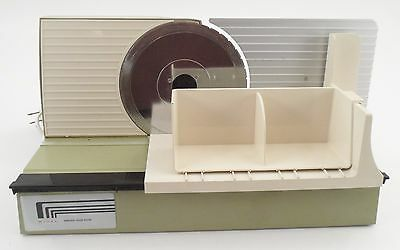 EUC Clean Working Rival Slimline 1038 Electric Meat Cheese Deli Home Food Slicer