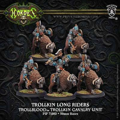 Hordes: Trollblood Trollkin Long Riders PIP 71080
