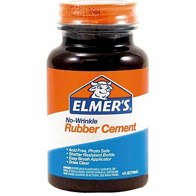 4-OZ Elmer's Rubber Cement Adhesive