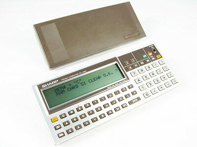 Calculadora Sharp Pocket Computer PC-1360 Cientifica ref148
