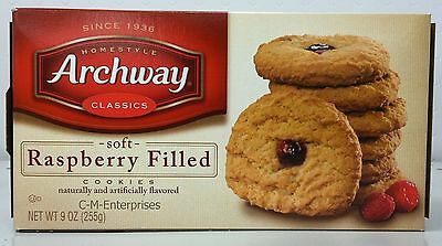 Archway Raspberry Fruit Filled Cookies 9 oz