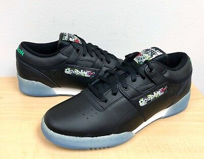4c39ac925b23 MENS REEBOK CLASSIC WORKOUT LO CLEAN SF Black Ice -V67877- ATHLETIC