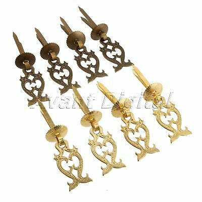 4 Handles Furniture Brass Hardware Drawer Pull Cabinet Door Knob Knocker WEALTH