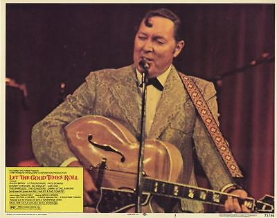 """""""let The Good Times Roll""""-Original Lobby Card-Rock N Roll-Bill Haley-Close-Up"""