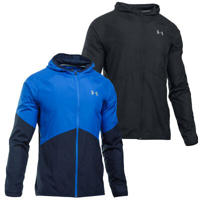 Under Armour 2016 Mens No Breaks STORM 1 Run Sports Running Reflective Jacket