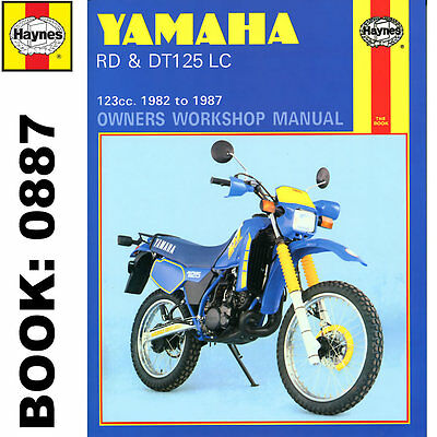 Yamaha DT125LC RD125LC 1982-87 Haynes Workshop Manual