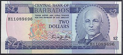 Barbados 2 Dollars 1986 unc./kfr. Pick 36