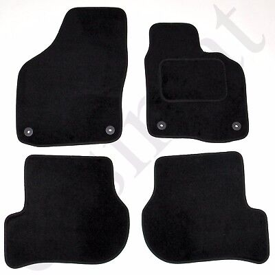 VW Scirocco 2008 onwards Tailored Car Mats Volkswagen Black Carpet 4pc Easimat