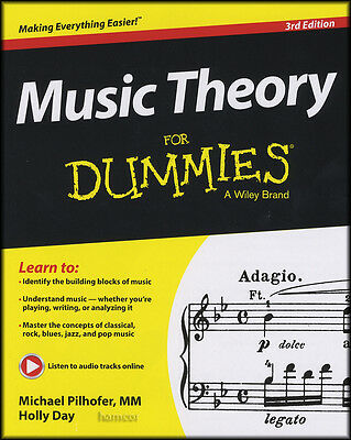 Music Theory for Dummies 3rd Edition Book & Audio Tracks Holly Day
