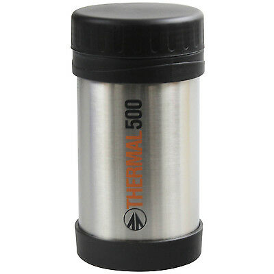 Summit 500ml Stainless Steel Vacuum Food Container Flask Travel Camping Storage