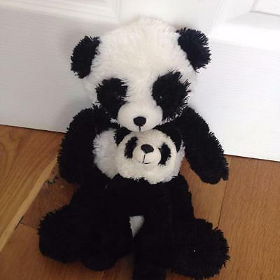 "Beautiful Chad Valley Design a Bear Panda Soft Toy 16"" Excellent and baby g16"