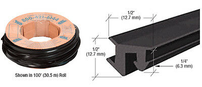 "CRL 1/2"" Roll-In EPDM Gasket - 100 ft Roll"