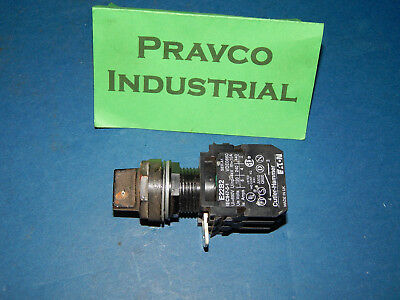 2Position Selector Switch With 2 Cutler Hammer E22B2 Contact Blocks Series A1