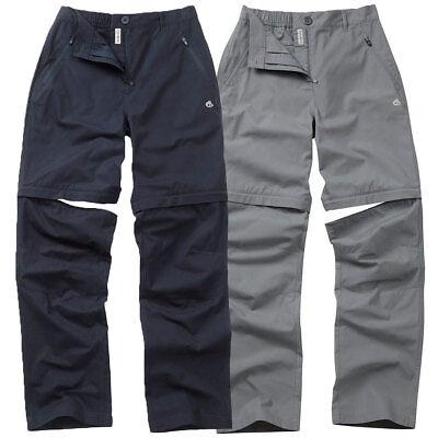 37% OFF RRP Craghoppers Womens Basecamp Convertible Trousers Zip Off Outdoor
