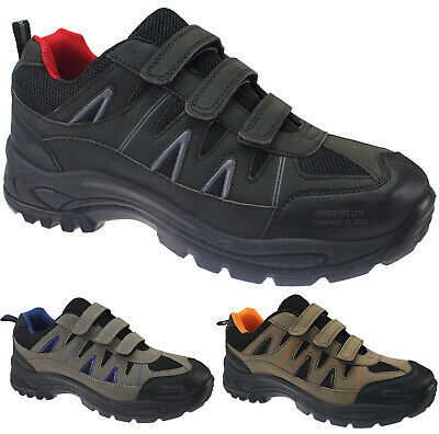 New Mens Hiking Boots Walking Ankle Outdoor Trail Trekking Trainers Shoes Size