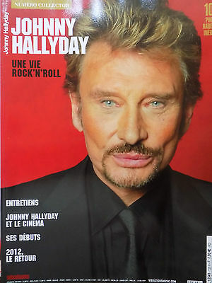 revue magazine VIBRATIONS n°135 COLLECTOR JOHNNY HALLYDAY