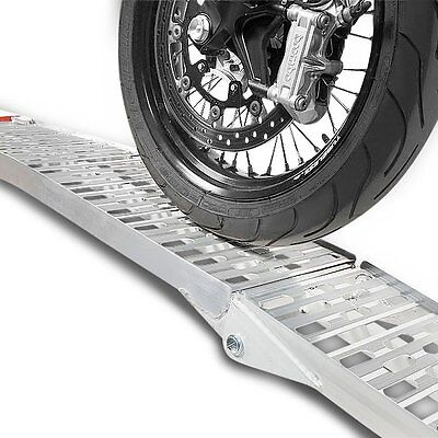 Loading ramp aluminium folding max. 340 kg for Motorcycle/Scooter/Quad/ATV/Trail