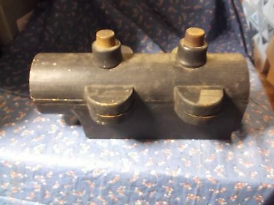 y. 1890's-1920's Foundry Pattern  Industrial Art Decor Mold Wood  Pipe????