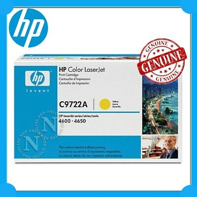 HP Genuine #641A YELLOW Toner Cart->LaserJet 4600/4610/4650 [C9722A] *CLEARANCE*