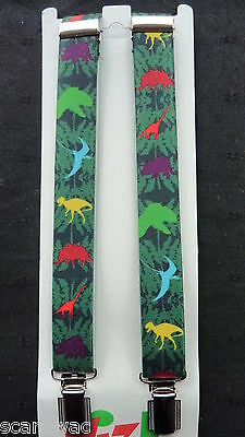 DINOSAUR BRACES for BOYS/GIRLS/CHILDREN/KIDS. approx. 1-6 yrs.