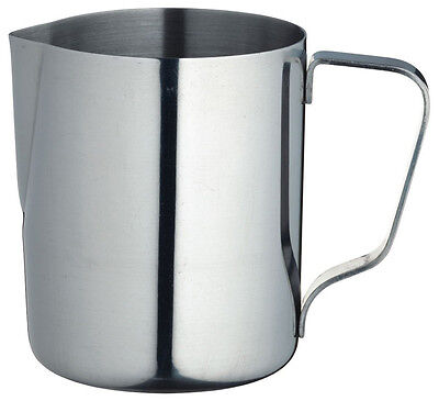 LeXpress Stainless Steel 350ml Frothing Milk Jug - KCJUGSM