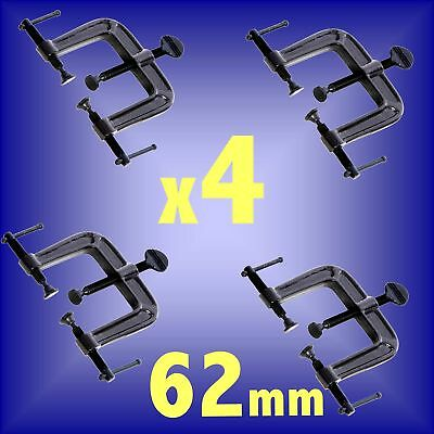 62mm 3 WAY CLAMPS cramp woodwork frame corner 868223 x4