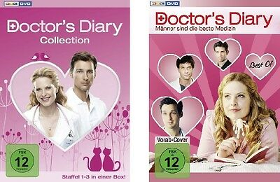 Doctor's Diary Doctors Diary Collection Komplette Dvd Staffel 1 2 3 + Best Of