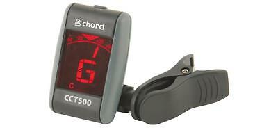 Chord 173.281 CCT500 Compact Design Multi Mode Backlit LCD Display Clip Tuner