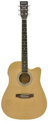 Chord 175.261 CW26CE-NT Volume and Tone Controls Electro Western Guitar - New