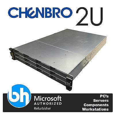 Chenbro Cloud Servidor 2x Intel Xeon Quad Core E5506 2,13 GHz 72GB RAM Rackable
