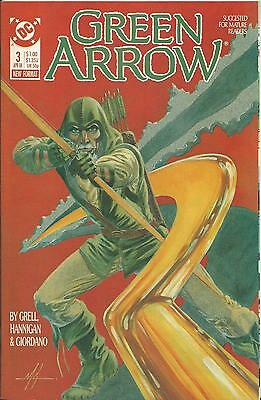 Green Arrow #3 (Dc) (1988 Series)
